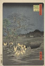 ZIG Bimoji Fude Wamon-yo -sivellinkynä, musta, medium