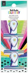 Vicki Boutin Color Study Bulldog Clips -klipsit