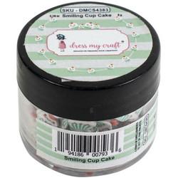 Dress My Crafts Shaker -koristeet, Smiling Cupcake