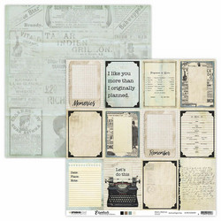 Studio Light skräppipaperi Planner Essentials 29