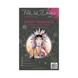 Pink Ink Designs leimasinsetti Spirit Warrior
