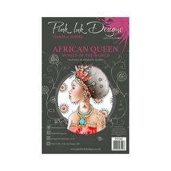 Pink Ink Designs leimasinsetti African Queen