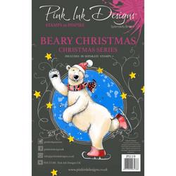 Pink Ink Designs leimasinsetti Beary Christmas