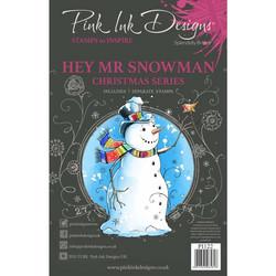 Pink Ink Designs leimasinsetti Hey Mr. Snowman