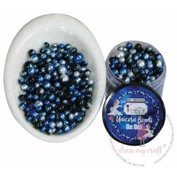 Dress My Craft Unicorn Beads -koristeet, Blue Black