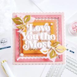 Pinkfresh Studio Stitched Scallop Square -stanssi