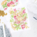 Pinkfresh Studio sapluunasetti Blushing Floral, A2