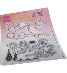 Marianne Design leimasin- ja stanssisetti Eline's Animals Otters