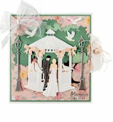 Marianne Design Romantic Gazebo -stanssi