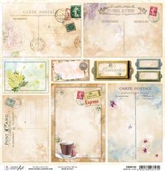 Ciao Bella Notre Vie -skräppipaperi Cards