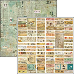 Ciao Bella Patterns Pad paperipakkaus Sign of the Times, 12
