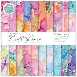 Craft Consortium Ink Drops, Candy -paperipakkaus