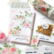 Pinkfresh Studio washi-teippi Hydrangea and Rose