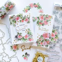 Pinkfresh Studio leimasinsetti Blossoms & Berries