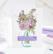 Pinkfresh Studio sapluunasetti Floral Vase, 4