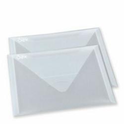 Sizzix Plastic Storage Envelopes, säilytystaskut, 2 kpl, 9