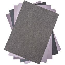Sizzix Surfacez Opulent Cardstock -pakkaus, Charcoal