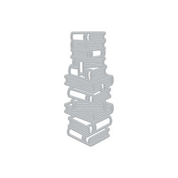 Hero Arts Stacked Books -stanssi