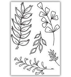 Julie Hickey leimasin Floral Foliage