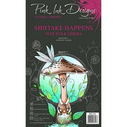 Pink Ink Designs leimasinsetti Shiitake Happens