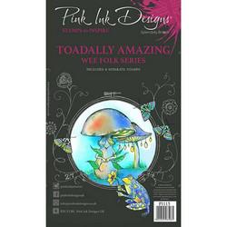 Pink Ink Designs leimasinsetti Toadally Amazing