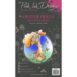 Pink Ink Designs leimasinsetti Oyster Frills