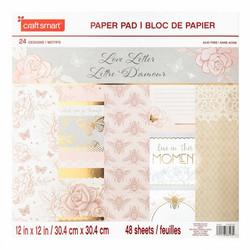 Craft Smart paperipakkaus Love Letter, 12