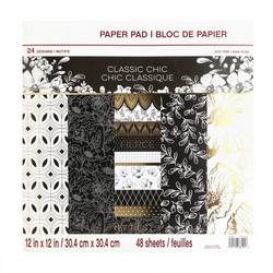 Craft Smart paperipakkaus Classic Chic, 12