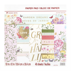 Craft Smart paperipakkaus Garden Dreams, 12