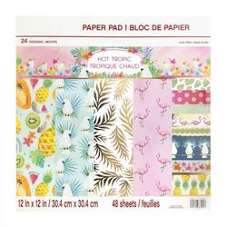 Craft Smart paperipakkaus Hot Tropic, 12