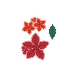 Heartfelt Creations Large Festive Poinsettia -stanssi