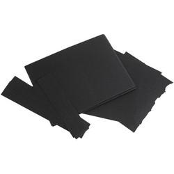 49 and Market Foundations Jagged Flip Folio -sivut, musta