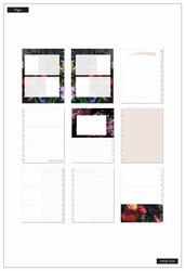 Mambi Happy Memory Keeping Rustic Blooms Big Photo Journal