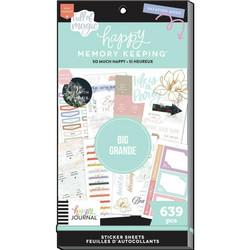 Mambi Happy Planner Value Pack -tarrapakkaus So Much Happy BIG