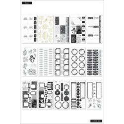 Mambi Happy Planner Value Pack -tarrapakkaus Fancy Blooms