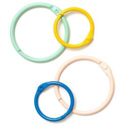 Obed Marshall Buenos Dias Colored O-Rings -saranarenkaat, 8 kpl