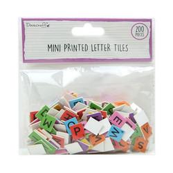 Dovecraft Mini Letter Tiles -koristeet, Brights