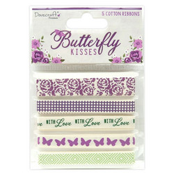 Dovecraft Butterfly Kisses -nauhat