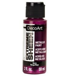 DecoArt Extreme Sheen Metallics -maali, sävy Berry