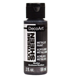 DecoArt Extreme Sheen Metallics -maali, sävy Obsidian