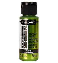 DecoArt Extreme Sheen Metallics -maali, sävy Peridot