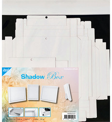 Joy! crafts Shadow Box, valkoinen