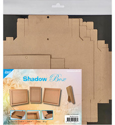 Joy! crafts Shadow Box, ruskea