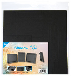 Joy! crafts Shadow Box, musta