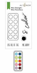 Altenew Mini Delight: Mini Paintbox -leimasin- ja stanssisetti