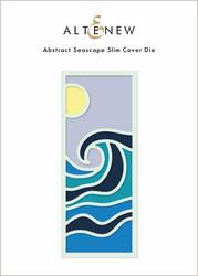 Altenew Abstract Seascape Slim Cover -stanssi