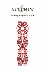 Altenew Rippling Rings Border -stanssi