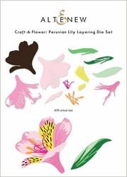 Altenew Craft-A-Flower: Peruvian Lily -stanssisetti