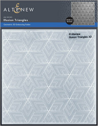 Altenew 3D kohokuviointikansio Illusion Triangles