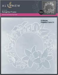 Altenew 3D kohokuviointikansio Delightful Frame